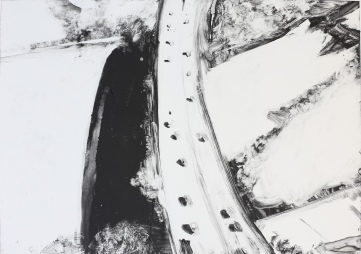 Mirabilia monoprint highway