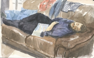 Morandi dreams, Watercolour on paper 18