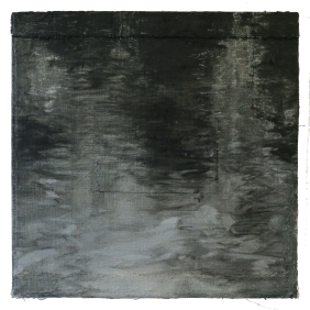 Mould Water canal_40x40_oil on canvas